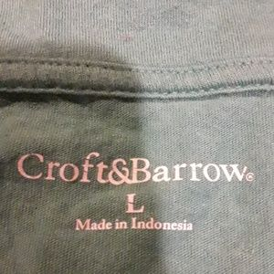 croft & barrow Tops - Women  CROFT& BARROW  Green Shirt  ( L ).